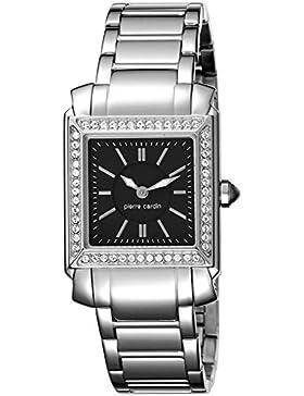 Pierre Cardin Damen-Armbanduhr Le Lustre Analog Quarz Edelstahl Swiss Made