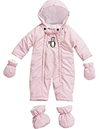 Playshoes Unisex - Baby Schneeanzug Schnee-overall Pinguin