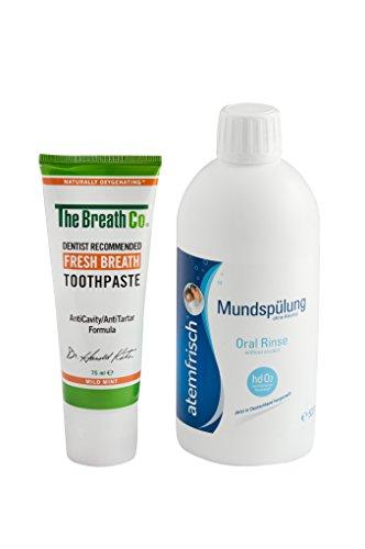 TetroBreath Profi Zahnpflegesystem Gegen Mundgeruch, 575 g