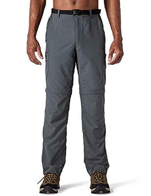 NAVISKIN Herren Zip-Off-Trekkinghose 2-in-1