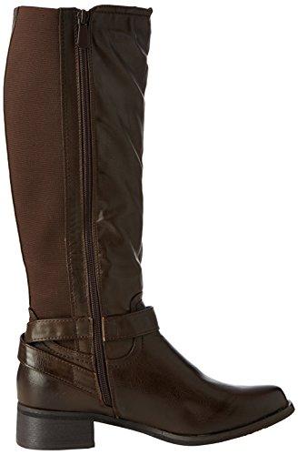 Damen Schuhe, 729-PG, STIEFEL Braun 729-PG