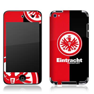 Apple iPod Touch 4. Generation Folie Skin Aufkleber Schutzfolie DesignSkin - Eintracht Frankfurt schwarz rot Ipod 4. Generation Von Skins