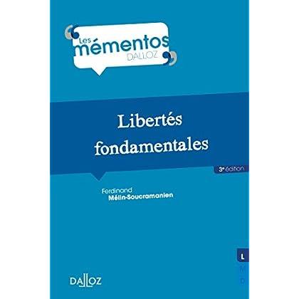 Libertés fondamentales - 3e éd.