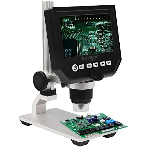 Omegon Mikroskop DigiStar, 1x-600x, LCD 4,3''