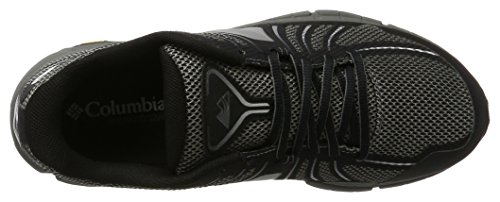 Columbia Mojave Trail Outdry, Chaussures de Running Compétition Homme Noir (Black, White 010)