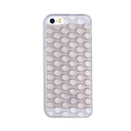 D9Q TPU Ausgestattet Fall Soft 3D Bubble Wrap Design Haut Abdeckungs Schutz für iPhone 6 Plus !! Grau