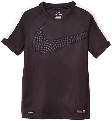 Nike, Maglietta a maniche corte Gpx B Flash SS, Grigio (Anthracite/White), S