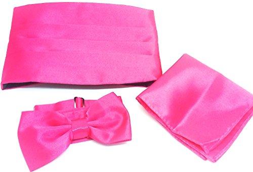 Wedding accessories Herren Kummerbund Pink Rose onesize