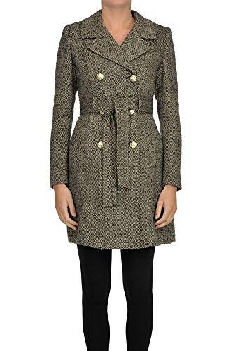Liu Jo Luxury Fashion Damen MCGLCSC000006088I Beige Mantel | Jahreszeit Outlet