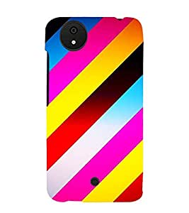 PrintVisa Designer Back Case Cover for Micromax Canvas Android A1 AQ4501 :: Micromax Canvas Android A1 (Stripped Pattern)