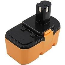 Mitsuru® 3000mAh Ni-MH 18V batería para Ryobi One Plus Serie BIW180M CCG1801MHG CDA1802M CHV182M CJS180LM CNS1801MHG CPL180MHG CRH1801M CRO180MHG LTS180M OBL1802 OGS1821 recambio Ryobi BLK18151 RB18L15 RB18L40 RBC18L15 RBC18L40 RBC18LL15 RBC18LL40