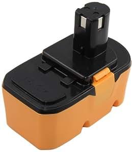 Mitsuru® 3000 mAh Ni-MH 18 V Akku Batterie für Ryobi One Plus Serie OHT1851 ersetzt Ryobi RBC18L40 RB18L15 RB18L40 RBC18L15 RBC18LL15 RBC18LL40 BLK18151 BLK18151
