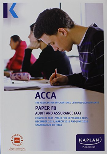 F8 Audit and Assurance - Complete Text (Acca Complete Texts)