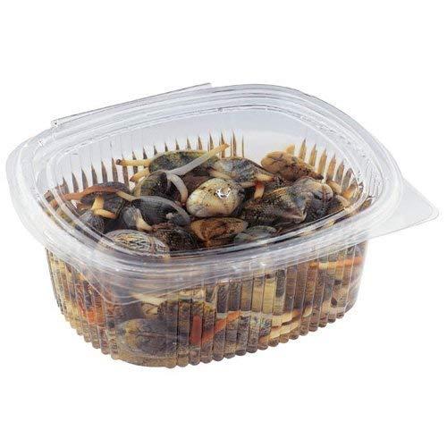 Palucart vaschette ovali in pet vaschette alimenti usa e getta 50 pz 750cc