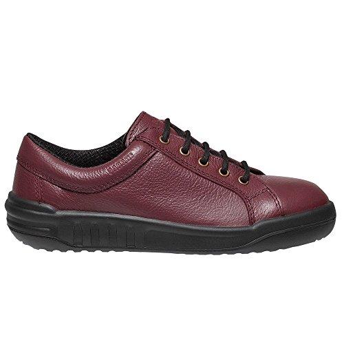 Défilé, Chaussures De Sécurité Pour Hommes Rouges
