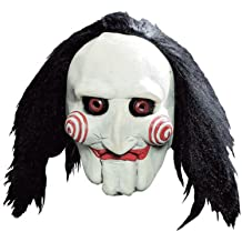 Saw Jigsaw Puppet Full Adult Mask (máscara/ careta)