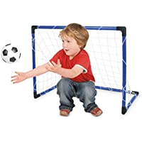 Toyrific Football Goal Net/ Ball and Pump
