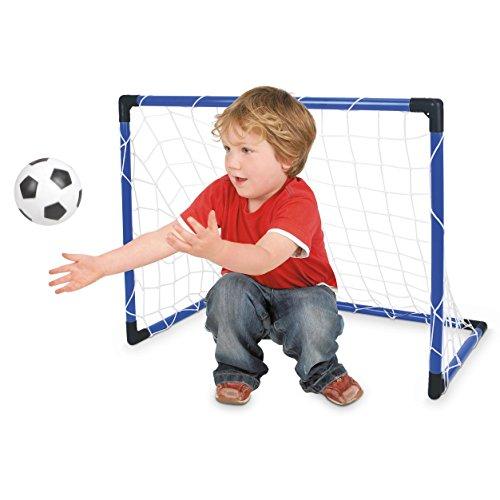 Toyrific Fußball Tor mit Netz/Ball und Pumpe