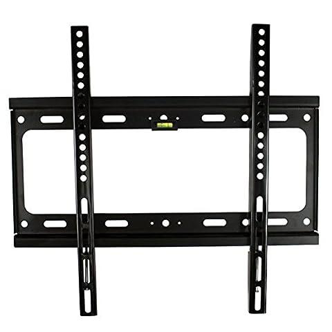 FANCYINN Flat to Fixed LCD LED Plasma TV wall mount bracket 26
