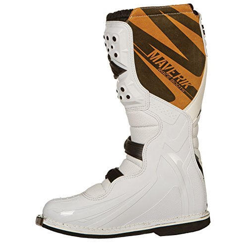 Fly Racing Motocross-Stiefel Maverik Weiß Gr. 43-44 - 3