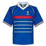 Scoredraw - Camiseta de fútbol, diseño de la selección Francesa para el Mundial de 1998, Color Azul - Azul Real, tamaño Large