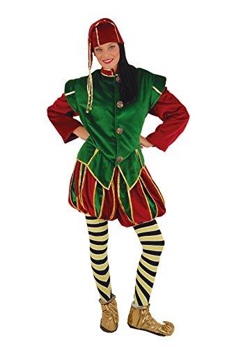 Stamco - Kostüm Elfe Vater Noel, Wichtel, DE ()