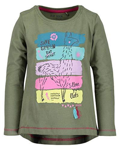 BLUE SEVEN Blue Seven Mädchen T-Shirt Vd-750583 X Grün (Tee 773) 92