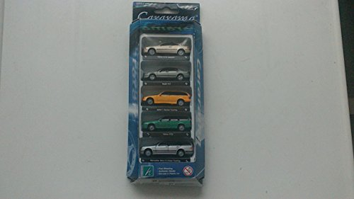 cararama-5-model-car-set