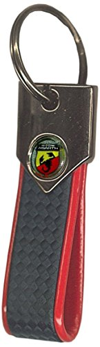 Abarth 21759 – llavero oficial Carbon Red
