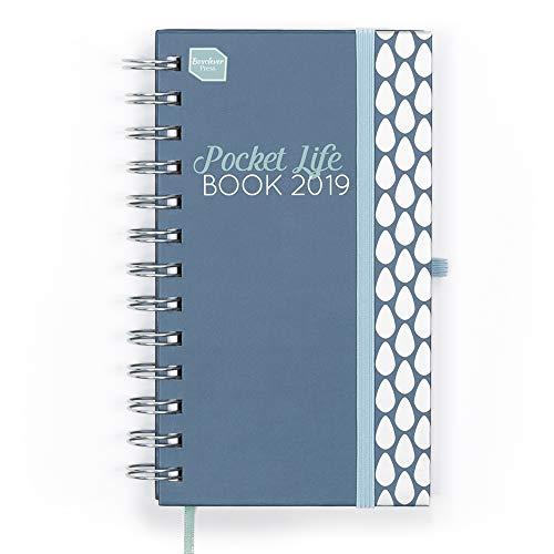 Boxclever Press 2018/2019 Pocket Life Book IN ENGLISCHER SPRACHE. Kleiner Terminplaner, Wochenplaner und Organizer. Terminkalender mit Wochenansicht. Laufzeit von September 2018 bis Dezember 2019