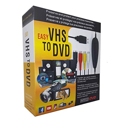 FONCBIEN VHS to Digital Converter - [Actualizar]