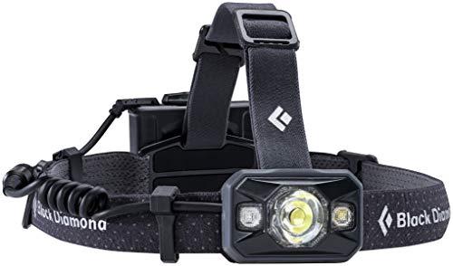 Black Diamond Icon Headlamp / Staub- und wasserdichte Kopflampe mit RGB-Nachtsichtmodus und abnehmbarem Batteriefach / Max. 500 Lumen