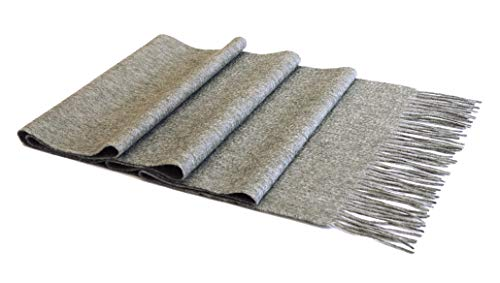 MayTree Kaschmir-Schal in verschiedenen Farben Herren und Damen, Unisex Woll-Schal aus 100% Kaschmir, einfarbig und kariert, 180 x 30 cm