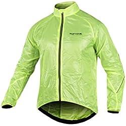 Spiuk Top Ten Chaqueta Cortavientos De ciclismo Para Mujer Color Amarillo Talla L