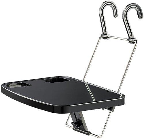 Preisvergleich Produktbild Lescars Autotisch: Kfz-Universalklapptisch für Lenkrad- & Kopfstützenbefestigung (Kfz Tisch)