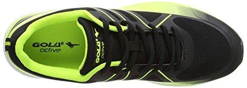 Gola - G-max, Scarpe outdoor multisport Uomo Nero (Nero (Black/Volt))