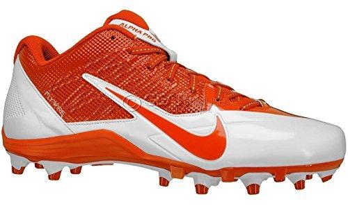 Nike , Herren American Football Schuhe orange/weiß