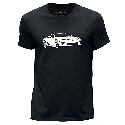 stuff4-uomo-xxx-grande-3xl-nero-girocollo-t-shirt-stampino-auto-arte-lfa