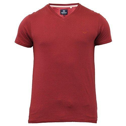 Herren T-shirt Von Threadbare Kurzärmelig Rost - MMU115PKB