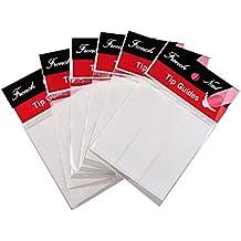 TOOGOO(R) 6 paquetes de 48 Pegatinas de guias puntas de manicura frances de