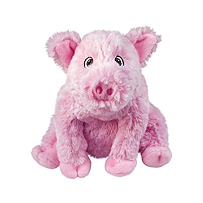 KONG - Comfort Kiddos Pig - Fun Plush Dog Toy with Removable Squeaker - For Small Dogs