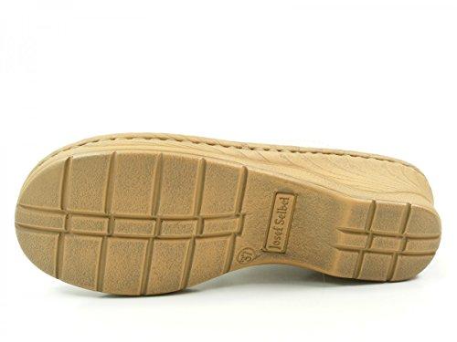 Josef Seibel 56508-8013 Catalonia 44 Damen Schuhe Sandalen Pantoletten Clogs Weiß