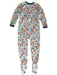 Carters 140/146 - Pijama de una Pieza para niño (Forro Polar, Cremallera