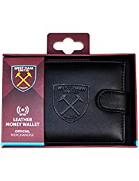 West Ham United FC Mens Official RFID Embossed Leather Wallet aacc07c960582