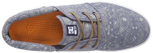 DC Shoes Haven Tx Se J Shoe, Baskets Basses femme Gris - Grau (GR3)