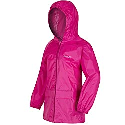 Regatta Kids Strombreak Jacket, wasserdichte Kinder Outdoor-Regenjacke