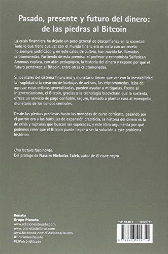 Resumen del libro de Saifedean Ammous EL PATRÓN BITCOIN: LA ALTERNATIVA DESCENTRALIZADA A LOS BANCOS CENTRALES