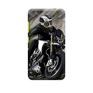 CaseLite Premium Printed Mobile Back Case Cover With Full protection For Nokia Lumia 530 (Designer Case)