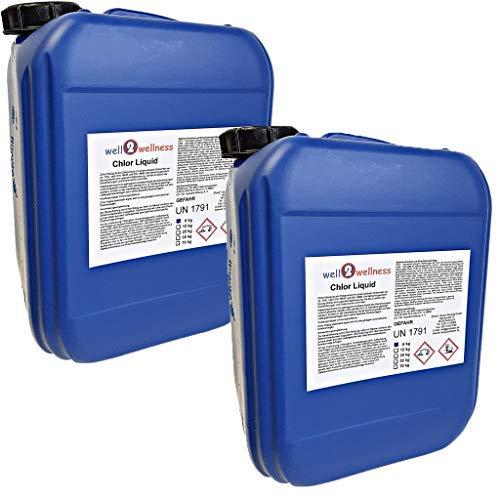 Cloro líquido ESTABILIZADO / CLORO ESTABILIZADO - 2 x 6 kg GARRAFA