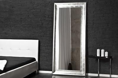 Imposanter Design Standspiegel BRILLADO silber 190x90cm Spiegel